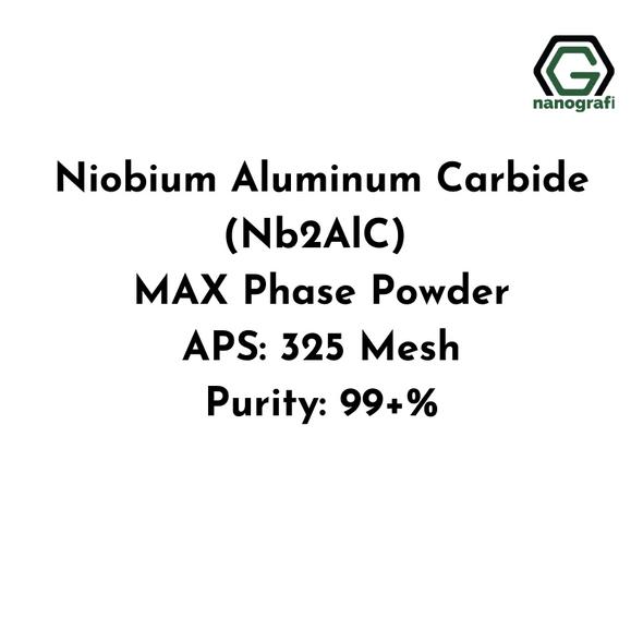 Niobium Aluminum Carbide (Nb2AlC) MAX Phase Powder, APS: 325 Mesh, Purity: 99+%