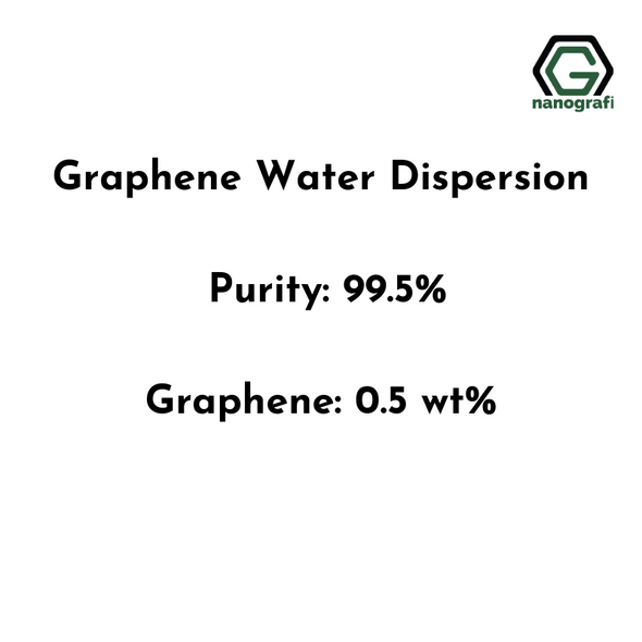Graphene Water Dispersion, Purity: 99.5%, Black Liquid, Graphene: 0.5 wt%