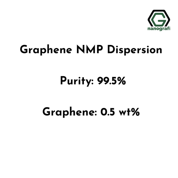 Graphene NMP Dispersion, Purity: 99.5%, Graphene: 0.5 wt%