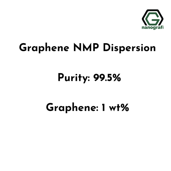 Graphene NMP Dispersion, Purity: 99.5%, Graphene: 1,0 wt%
