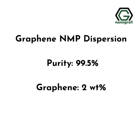 Graphene NMP Dispersion, Purity: 99.5%, Graphene: 2,0 wt%