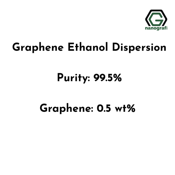 Graphene Ethanol Dispersion, Purity: 99.5%,  Graphene: 0.5 wt%