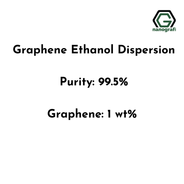 Graphene Ethanol Dispersion, Purity: 99.5%, Graphene: 1 wt%