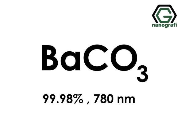 Barium Carbonate (BaCO3) Nanopowder/Nanoparticles, Purity: 99.98%, Size: 780 nm- NG04MO0401