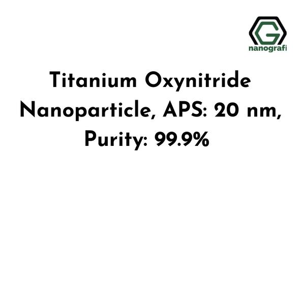 Titanium Oxynitride Nanoparticle, APS: 20 nm, Purity: 99.9%