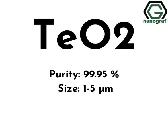 Tellurium Dioxide (TeO2) Micron Powder, Purity: 99.95 %, Size: 1-5 µm