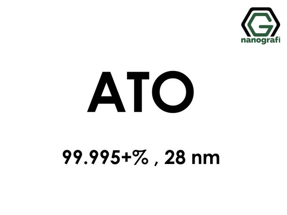 Antimony Tin Oxide (ATO) Nanopowder/Nanoparticles, Purity: 99.995+%, Size: 28 nm- NG04MO0101