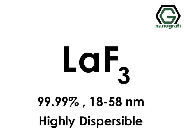 Lanthanum Trifluoride (LaF3) Nanopowder/Nanoparticles, Highly Dispersible, Purity: 99.99%, Size: 18-58 nm - NG04CO0901