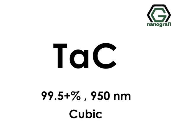 Tantalum Carbide (TaC) Nanopowder/Nanoparticles, Purity: 99.5+%, Size: 950 nm, Cubic- NG04CO1701