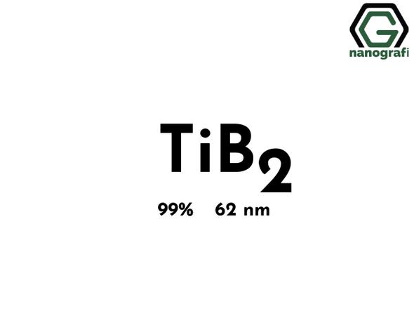 Titanium Diboride (TiB2) Nanopowder/Nanoparticles, Purity: 99%, Size: 62 nm- NG04CO1802