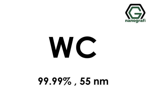 Tungsten Carbide (WC) Nanopowder/Nanoparticles, Purity: 99.99%, Size: 55 nm- NG04CO2302