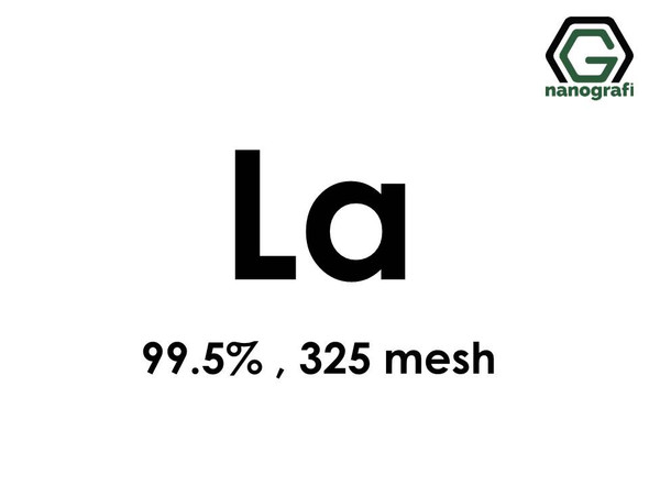Lanthanum (La) Micron Powder, Purity: 99.5 %, Size: 325 mesh- NG07RE0301