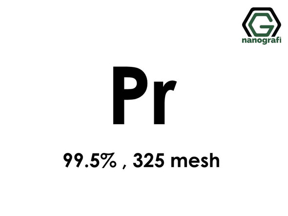 Praseodymium (Pr) Micron Powder, Purity: 99.5 %, Size: 325 mesh- NG07RE0501