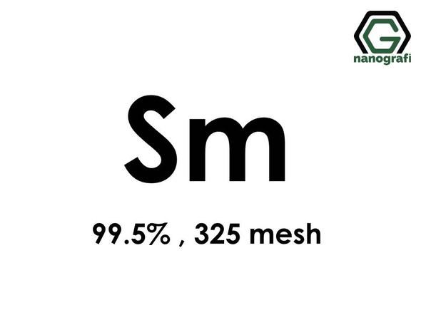 Samarium (Sm) Micron Powder, Purity: 99.5 %, Size: 325 mesh- NG07RE0801