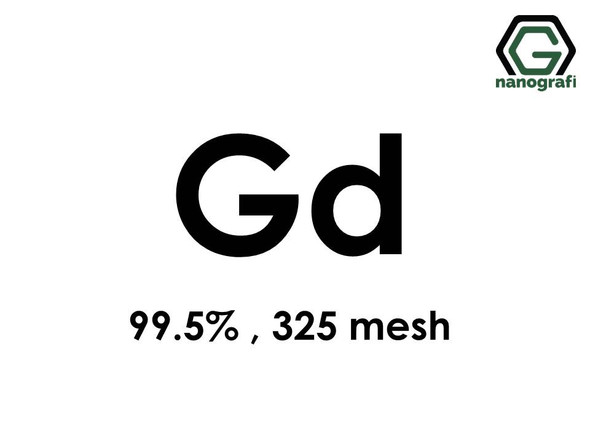 Gadolinium (Gd) Micron Powder, Purity: 99.5 %, Size: 325 mesh- NG07RE1001