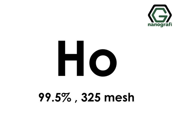 Holmium (Ho) Micron Powder, Purity: 99.5 %, Size: 325 mesh- NG07RE1301