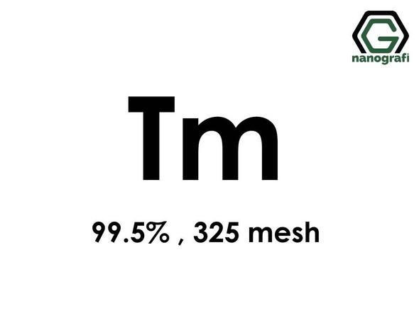 Thulium (Tm) Micron Powder, Purity: 99.5 %, Size: 325 mesh- NG07RE1501