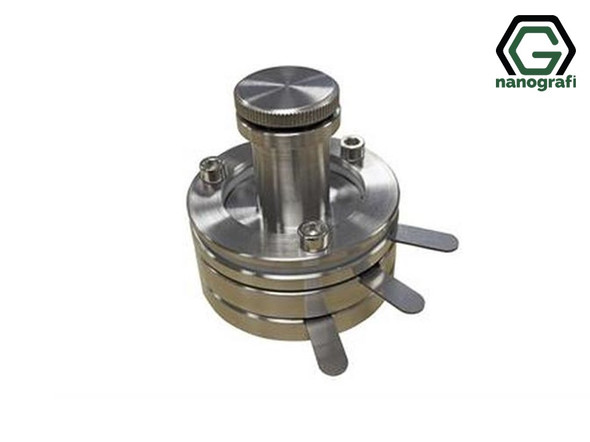 Stainless Steel Three-Electrode Split Test Cell - NG08BE0501