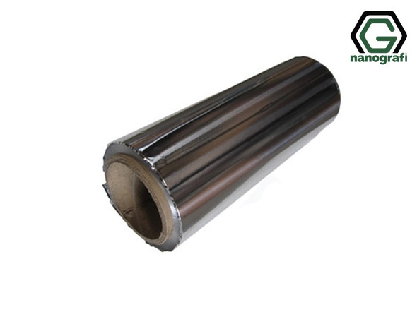 Aluminum Foil for Battery Cathode Substrate, Size: 350 m*280 mm*15 µm- NG08BE0601