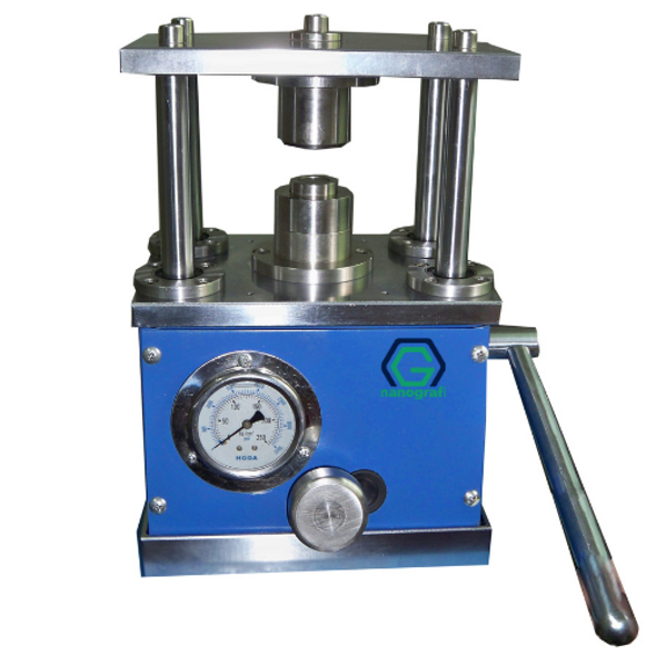 Hydraulic Crimping Machine for All Coin Cells- NG08BE1201