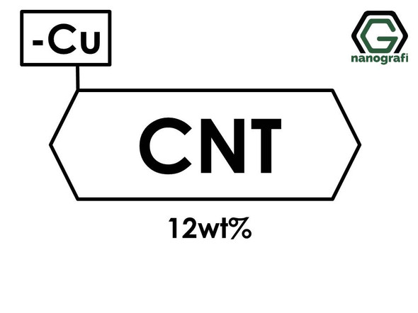 Carbon Nanotubes Doped with 12 wt% Copper (Cu) Nanopowder/Nanoparticles- NG01SC0404