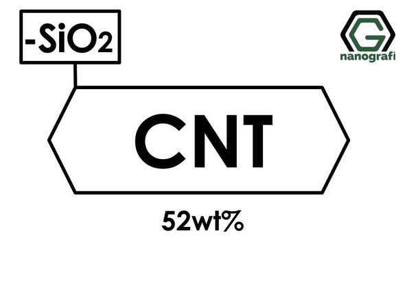 Carbon Nanotubes Doped with 52 wt% Silica (SiO2) Nanopowder/Nanoparticles