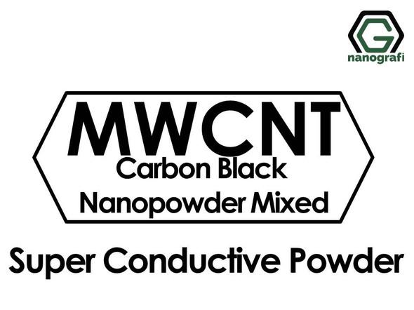 Super Conductive Carbon Black Nanopowder and Carbon Nanotube Mixed
