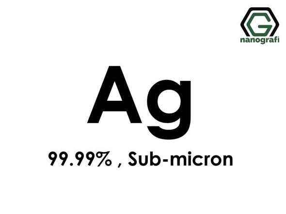 Ag(Silver) Micron Powder,Sub-Micron, 99.99 %