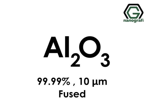 Aluminum Oxide (Al2O3) Micron Powder, Purity: 99+%, Size: 10 µm, Fused