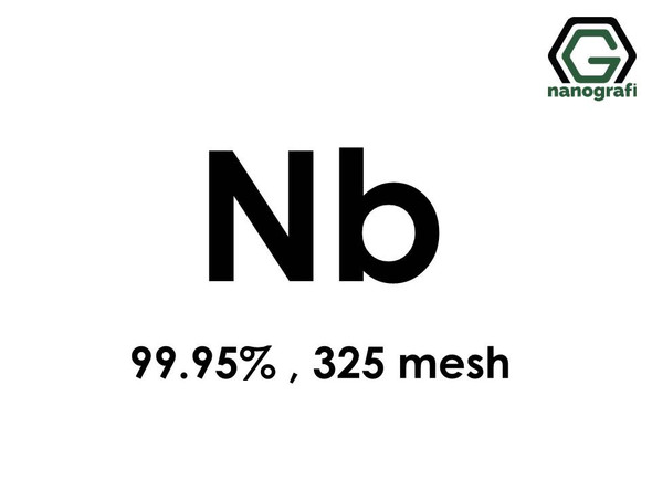 Nb(Niobium) Micron Powder, 325 Mesh, 99.95 %