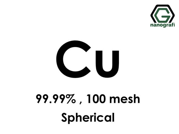 Copper Micron Powder(Spherical), 100 mesh, 99.99 %