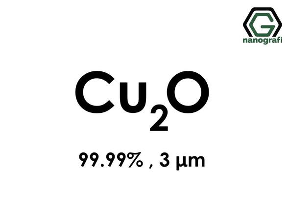 Cuprous Oxide (Cu2O) Micron Powder, Purity: 99.99 %, Size: 3 µm