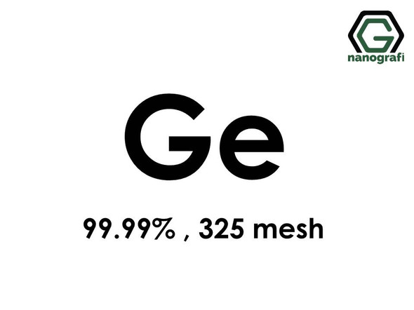 Ge(Germanium) Micron Powder,325 mesh, 99.99 %