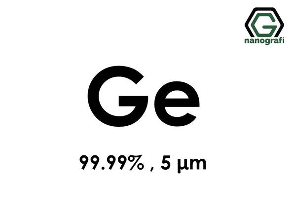 Ge(Germanium) Micron Powder,5 Micron, 99.99 %