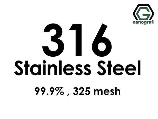 Type 316 Stainless Steel Powder, 325 mesh, 99.9 %