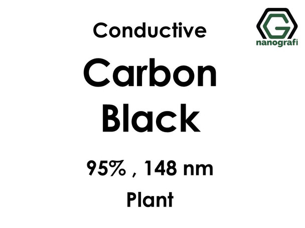 Conductive Carbon Black Nanopowder/Nanoparticles, Purity: 95%, Size: 148 nm (Plant)- NG04EO0705