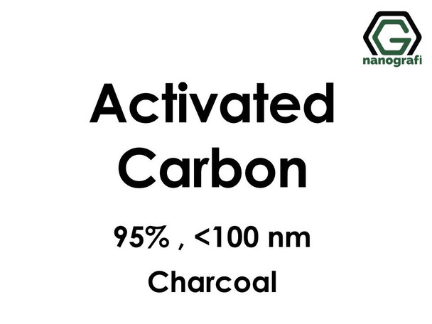 Activated Carbon (C) Nanopowder/Nanoparticles, Purity: 95%, Size: <100 nm, Charcoal- NG04EO0710