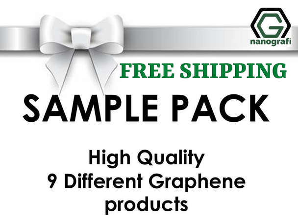Graphene Sample Pack ( include 9 products )