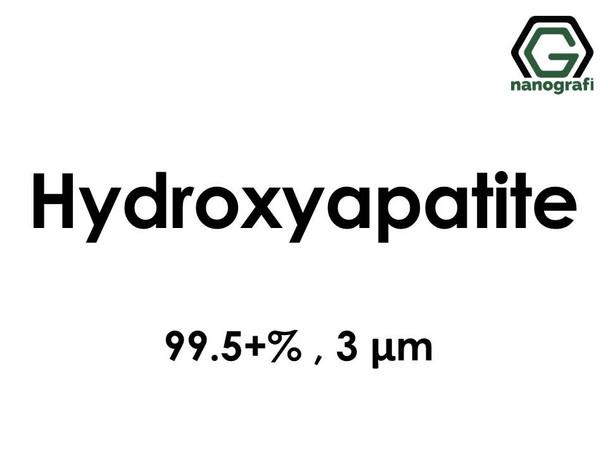 Hydroxyapatite Micron Powder, Purity: 99.5+%, Size: 3 µm