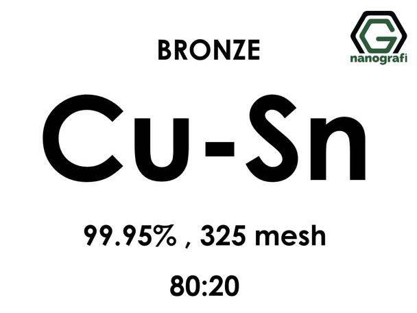 Copper Tin (Bronze, Cu:80-Sn:20) Alloy Micron Powder, Purity: 99.95%, Size: 325 mesh