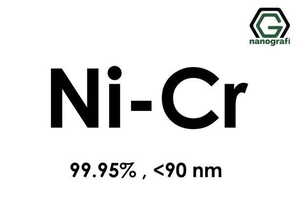 Nickel Chromium (Ni-Cr) Alloy Nanopowder/Nanoparticles, Purity: 99.95%, Size: < 90 nm- NG04EO3401
