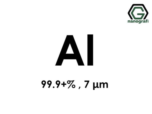 Aluminum (Al) Micron Powder, Purity: 99.9+ %, Size: 7µm