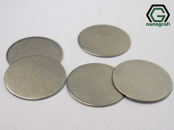 316SS Coin Cell Battery Spacer, Diameter: 15.8 mm, Thickness: 0.5 mm