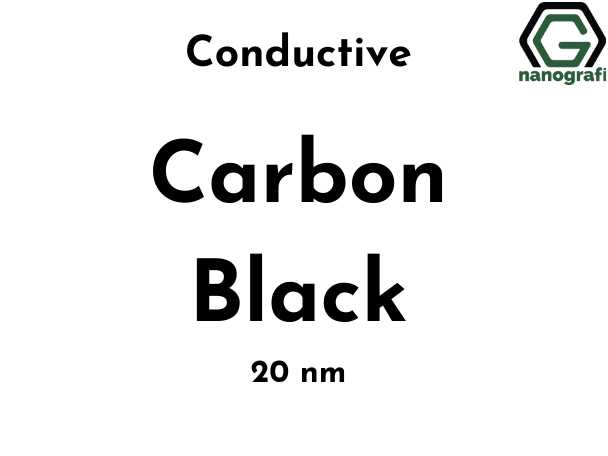 Conductive Carbon Black Nanopowder/Nanoparticles, Size: 20 nm