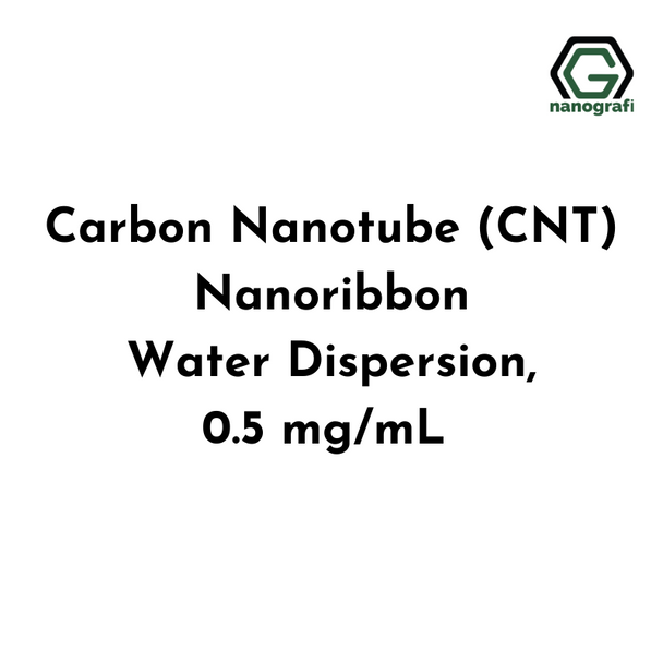 Carbon Nanotube (CNT) Nanoribbon Water Dispersion, 0.5 mg/mL