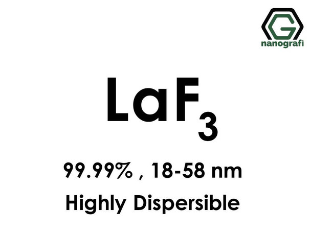 LaF3(Lanthanum Trifluoride) Nanoparticles, highly dispersible, 18-58nm