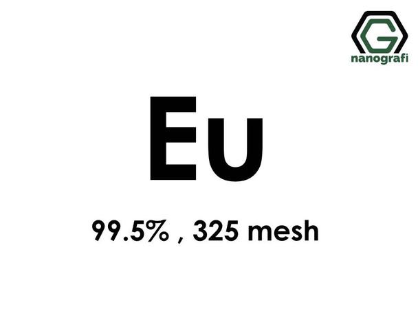 Europium (Eu) Micron Powder, Purity: 99.5 %, Size: 325 mesh- NG07RE0901
