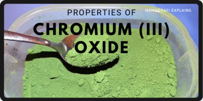 Chromium (III) Oxide Nanoparticles