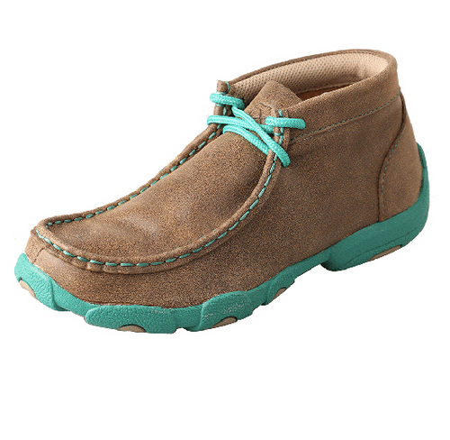 YDM0017 Bomber Turquoise Twisted X Youth Driving Moc