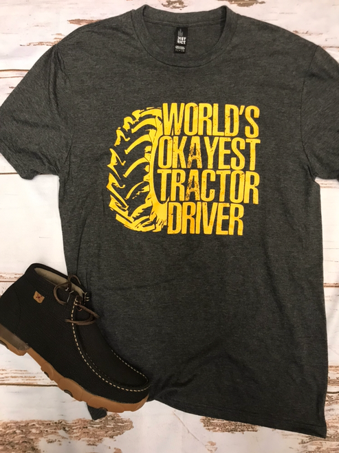 World's Okayest Tractor Driver